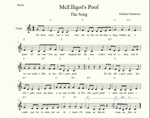 McElligots Pool The Song Paint